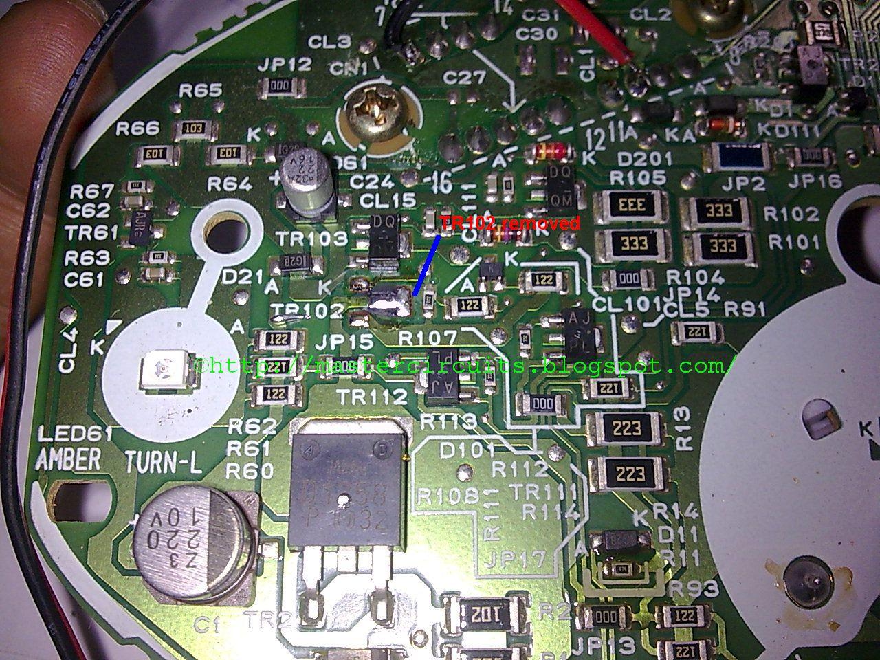 Wiring Diagram Honda Wave 125 : Wave 125 s panel repair techy at day blogger at noon and a