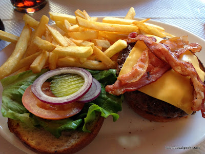 Breakfast In America - Bacon Cheeseburger