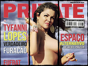 tyfanni lopes nua revista private outubro 2014