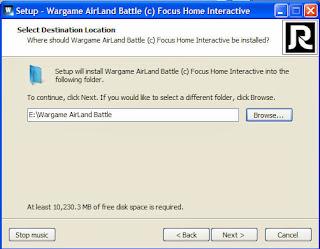 วิธีติดตั้งเกมส์ Wargame Airland Battle