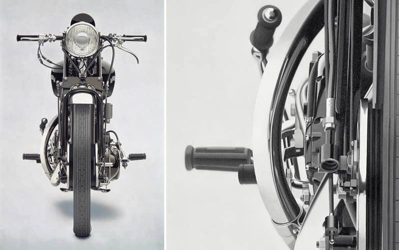 William Fisk's Photorealistic Motorcycle Paintings