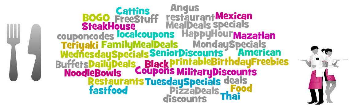Restaurant Coupons - Printable and Mobile Coupons