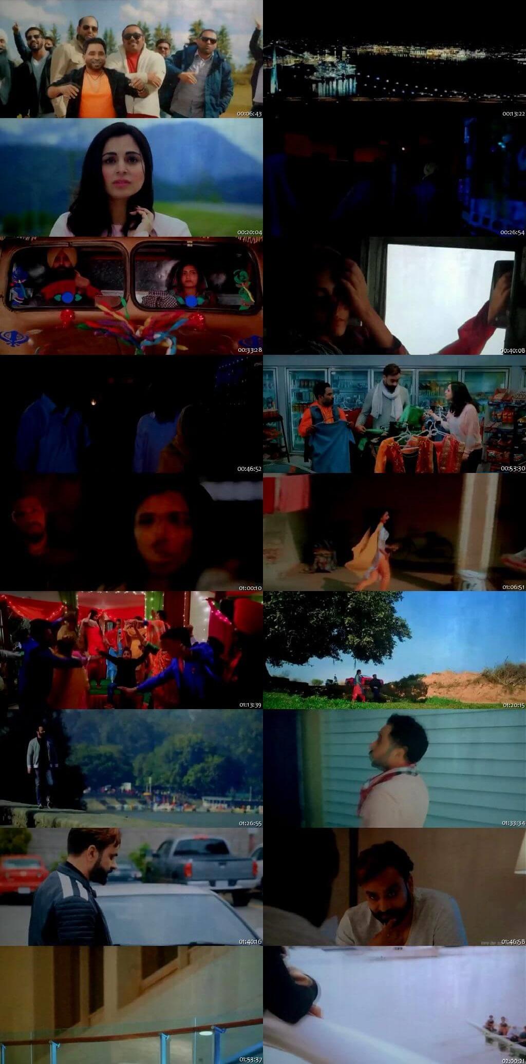 Screen Shot Of Banjara: The Truck Driver 2018 300MB PdvdRip 480P Full Punjabi Movie Watch Online Free Download