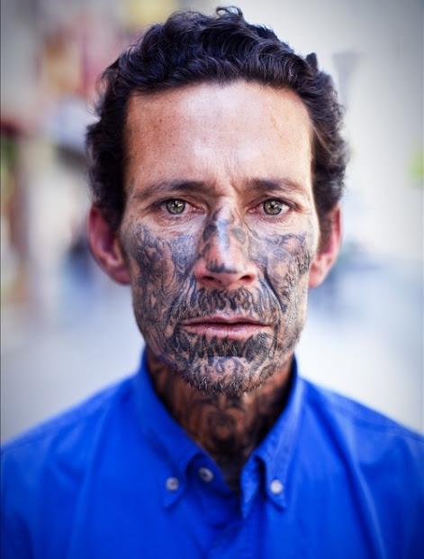 face tattoos popular tattoo design
