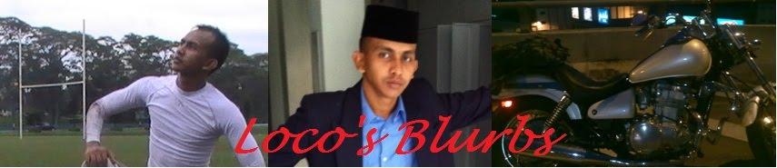 Loco's Blurb