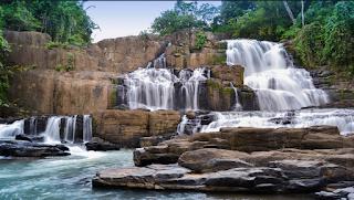 pesona wisata alam air terjun parang loe