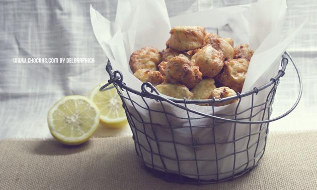 Receta de cuaresma - buñuelos de bacalao