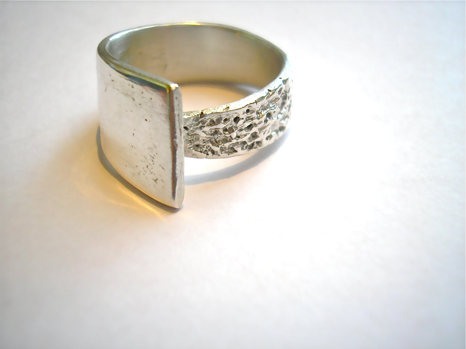 Art Clay Silver Ring