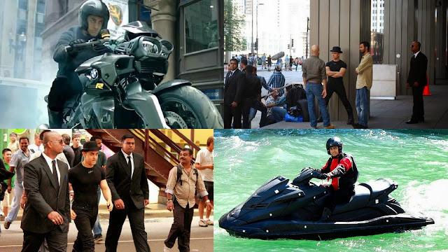 Aamir Khan in Dhoom 3 movie shooting spots