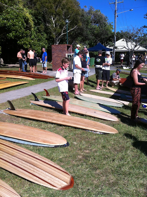 wooden board day 2013