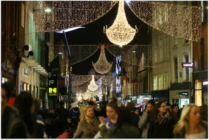Christmas Lights Grafton Street Dublin