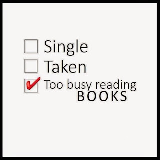 Funny Pictures DP for Bbm and whatsapp single too bussy reading books