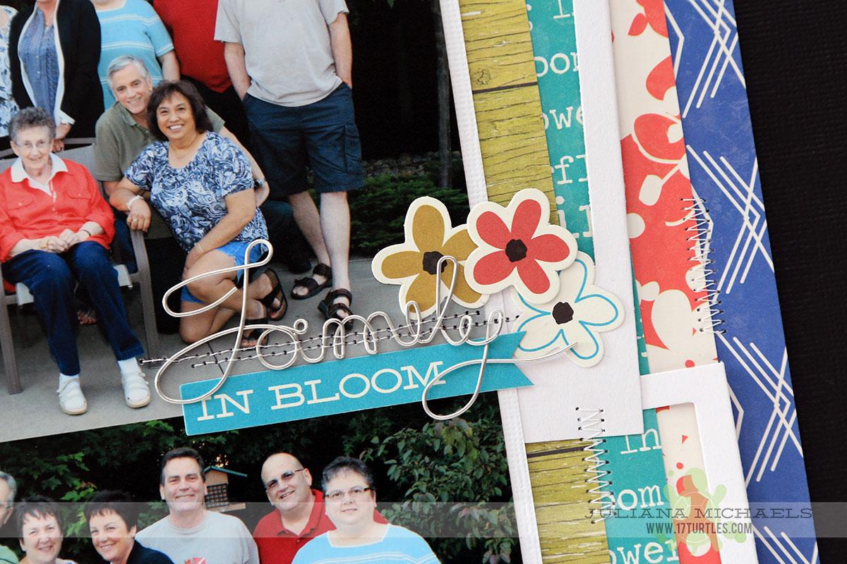 Family Scrapbook Page by Juliana Michaels featuring Jillibean Soup Saffron Yellow Pepper Soup