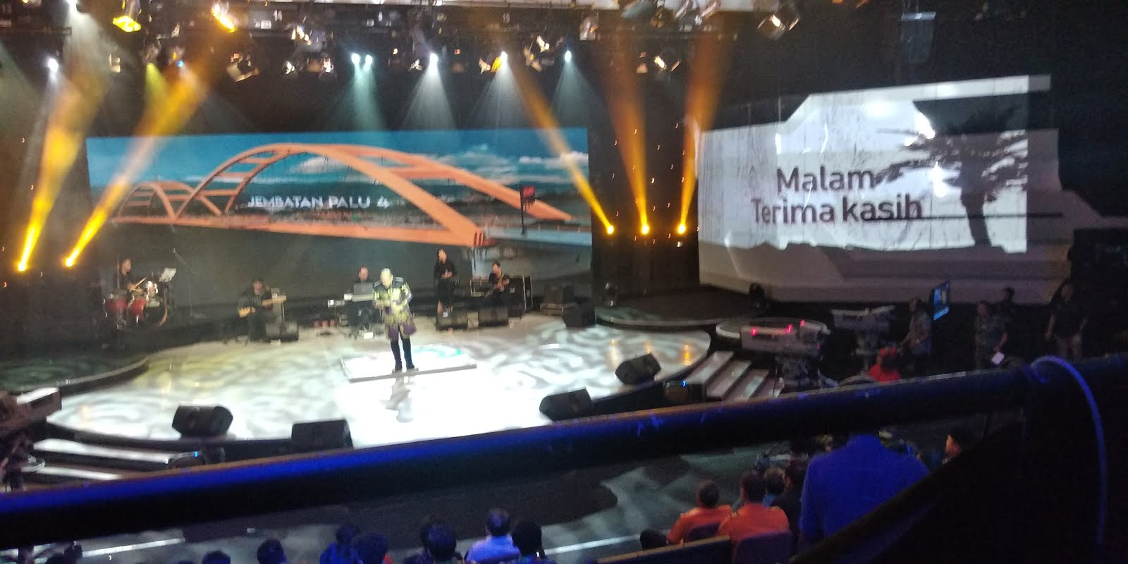 Video Mapping TVRI Event