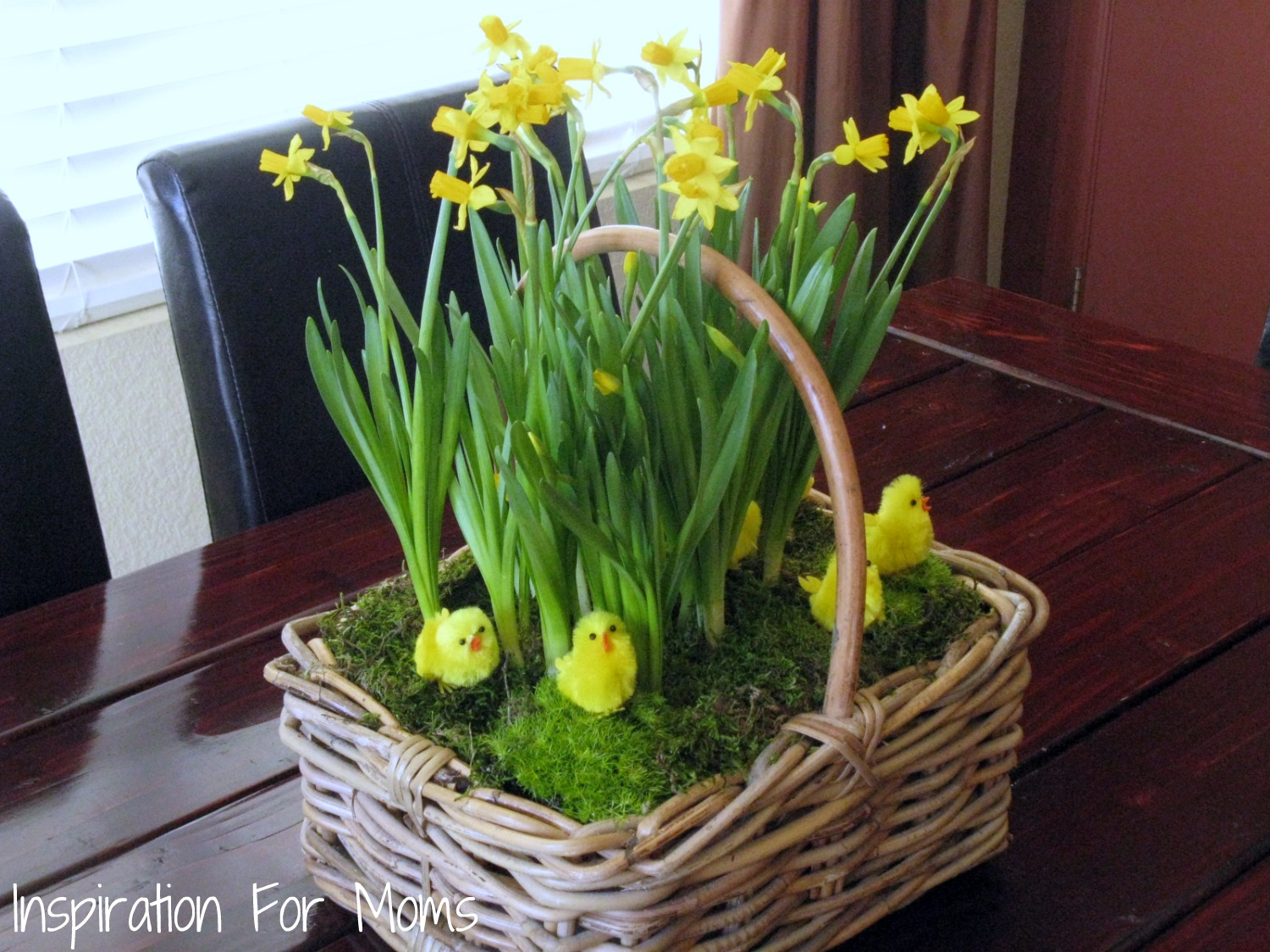 Diy Spring Easter Flower Basket Inspiration For Moms