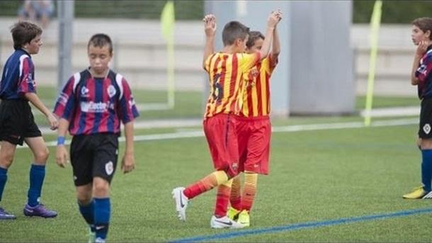 Los cinco mejores goles de la jornada del fútbol base azulgrana
