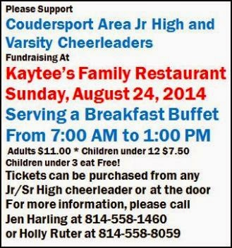 8-24 Breakfast Buffet Fundraiser