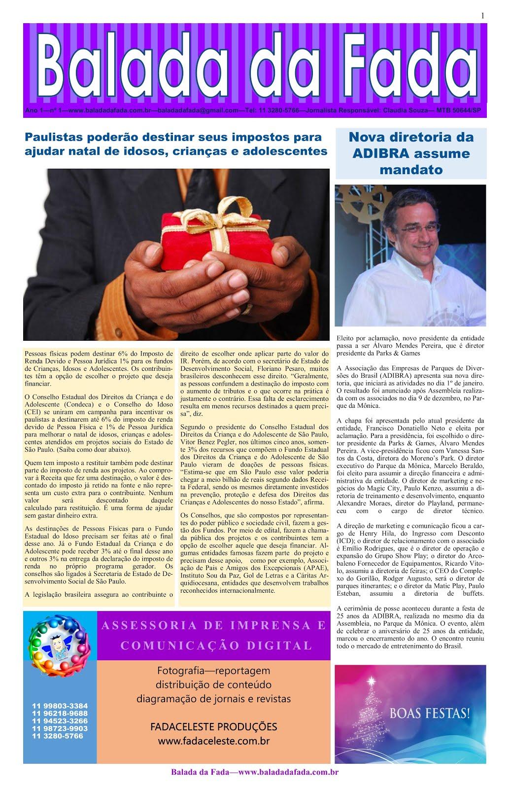 Jornal Balada da Fada