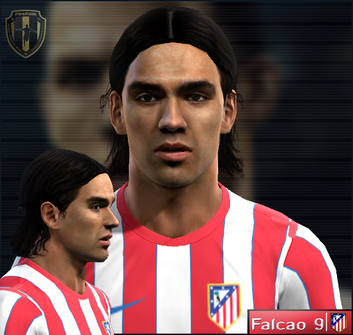 Radamel Falcao   Atletico De Madrid   PES 2012 Face By Nickless