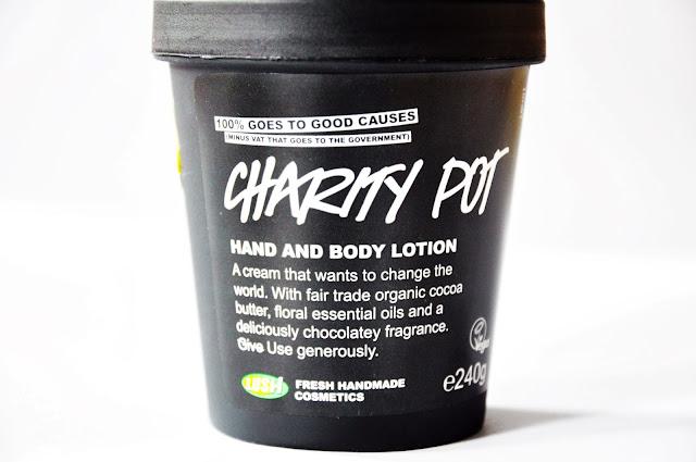 крем для тела Lush Charity Pot