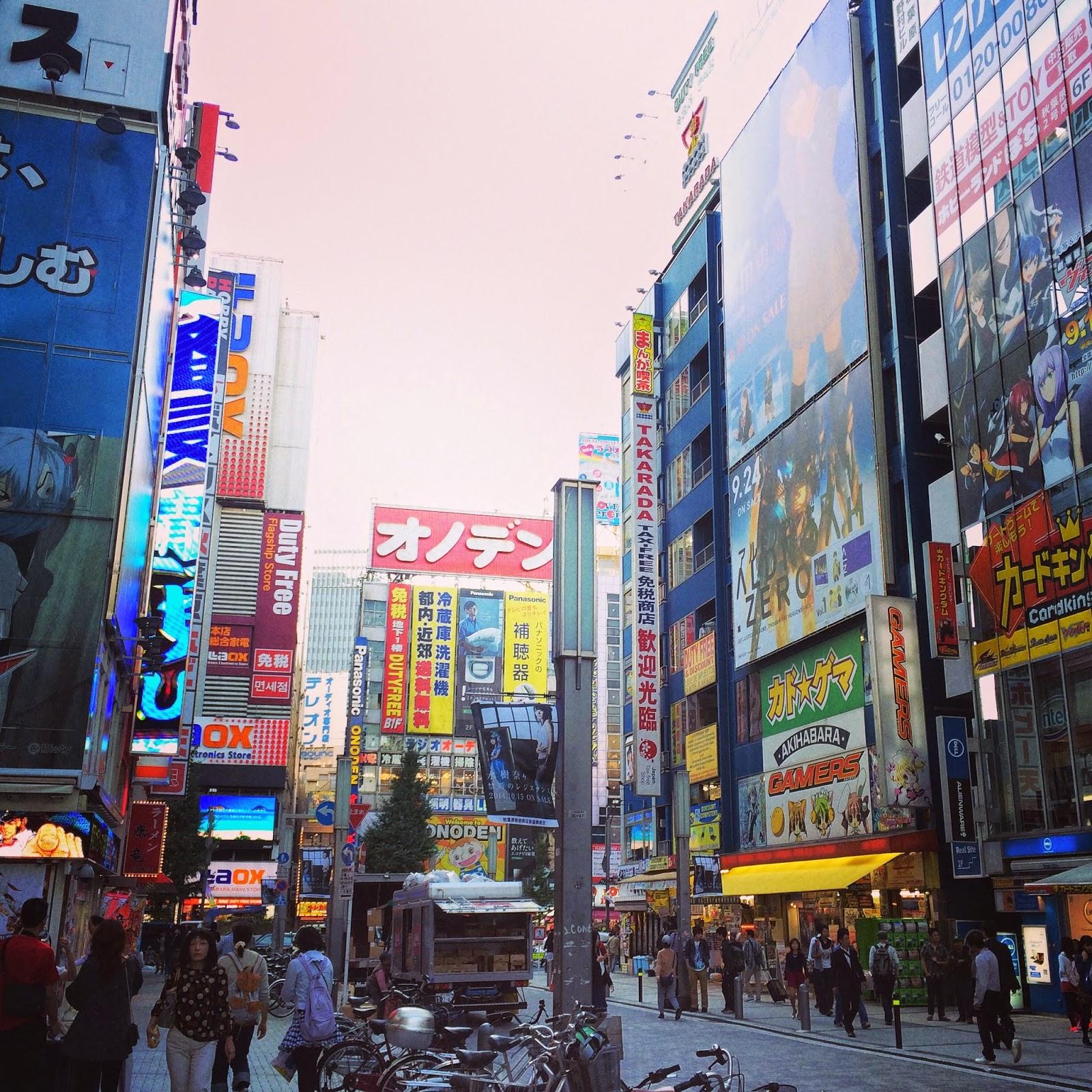 japan tokyo akihabara denkigai electronic town otaku anime manga figurine toys games