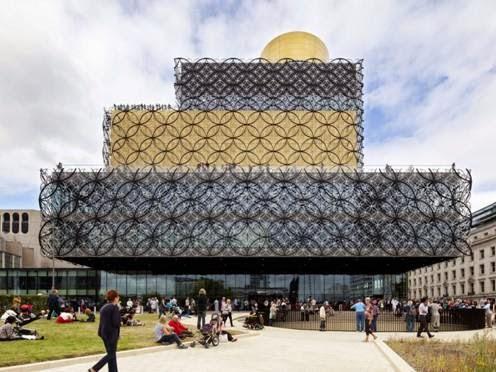 Thư viện của Birmingham tại Birmingham, Vương quốc Anh - Công ty kiến trúc Mecanoo thiết kế (lọt danh sách công trình Văn hóa)