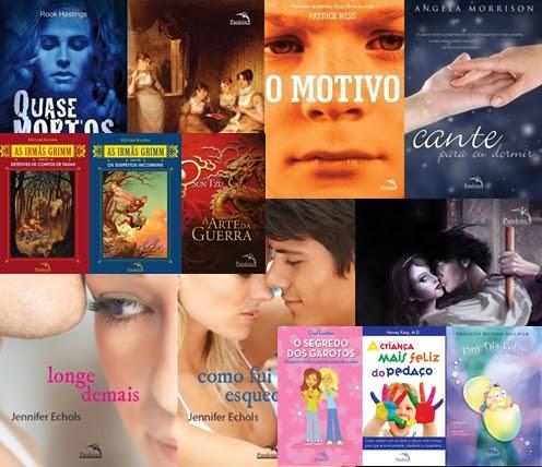 Ganhe todo o catálogo da Editora Pandorga!