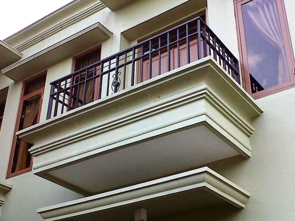Gambar  Model Dan Bentuk Balkon Rumah Minimalis
