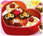 Món quà Valentine, game trang trí hộp quà valentine
