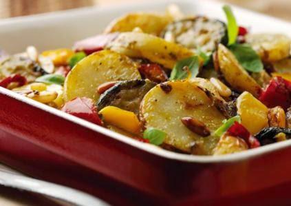 patatas a lo mediterráneo