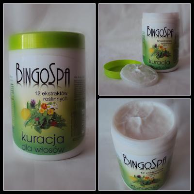 Kuracja do włosów BingoSpa - 12 ekstraktów roślinnych.