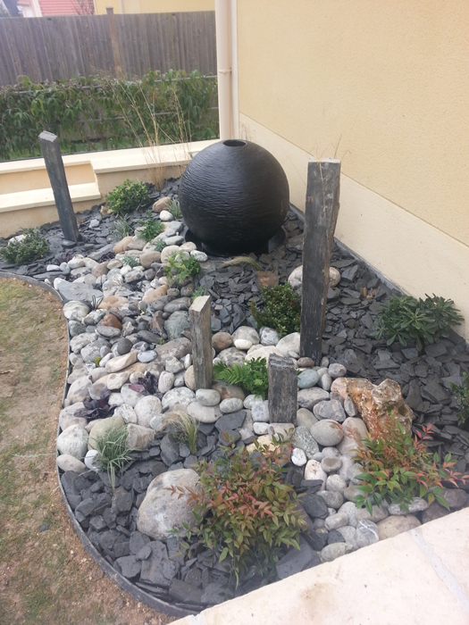 Paysagiste val d 39 oise cr ation jardin 95 am nagement for Amenager coin jardin zen
