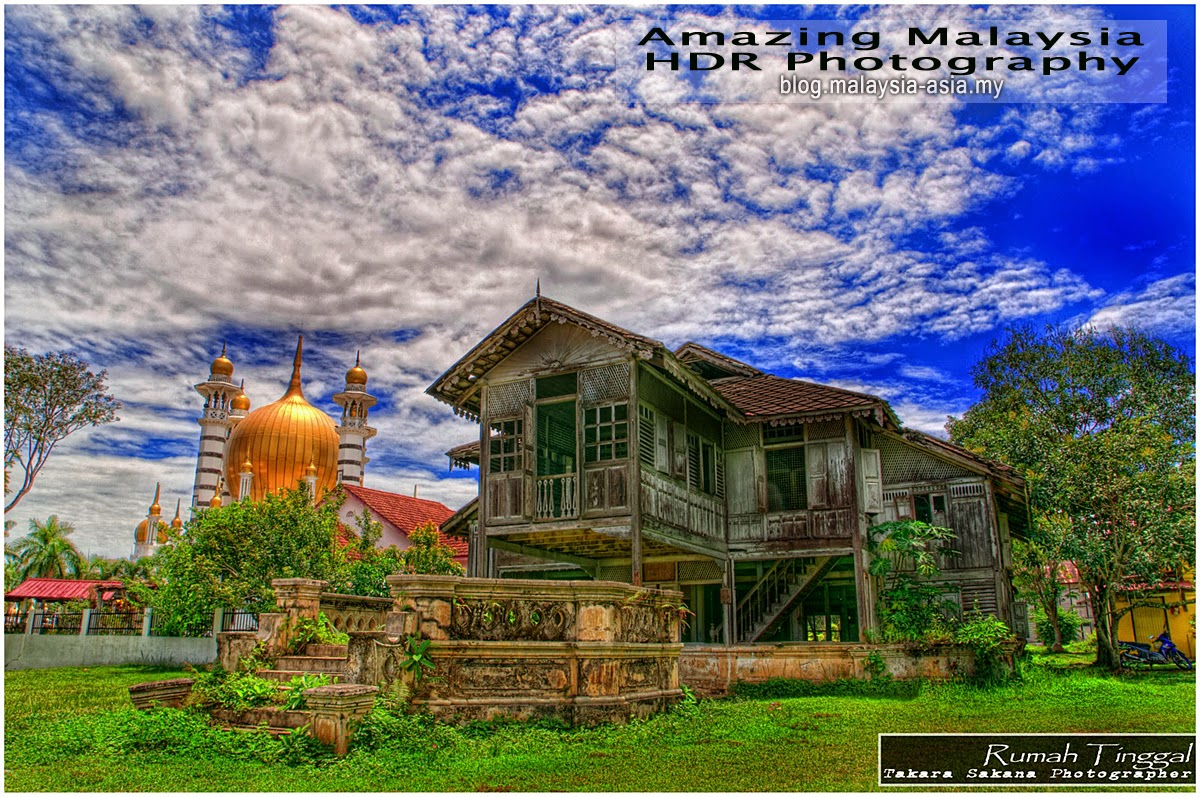 Kampung House, Perak HDR Photography