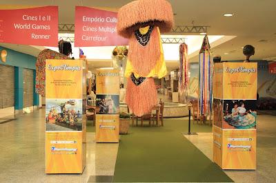 riopreto shopping center-exposição da festa do folclore de olímpia