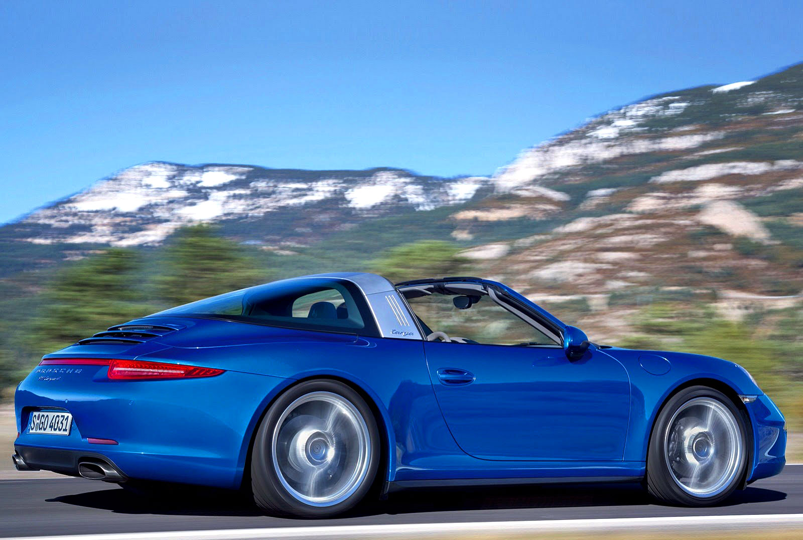jake 39 s car world porsche announces all new 911 targa. Black Bedroom Furniture Sets. Home Design Ideas