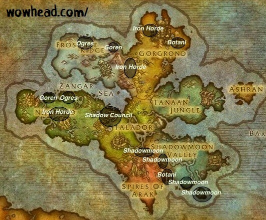 how to get to ashran from shadowmoon valley