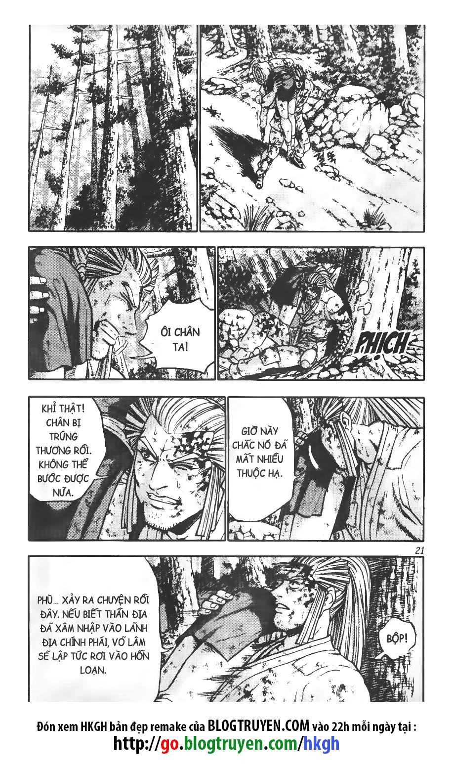 Hiệp Khách Giang Hồ chap 301 page 21 - IZTruyenTranh.com