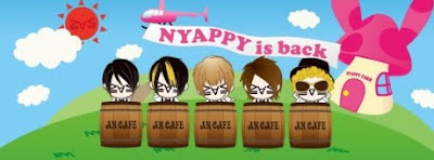an cafe regreso confirmado - nyappy is back
