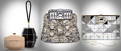 Três tipos de malas para a mulher - Carteira para a noite