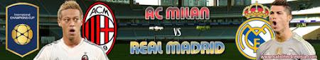 siaran ulang Real Madrid vs AC Milan