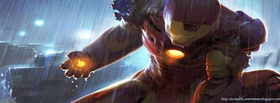 Couverture facebook hd  Iron Man 3
