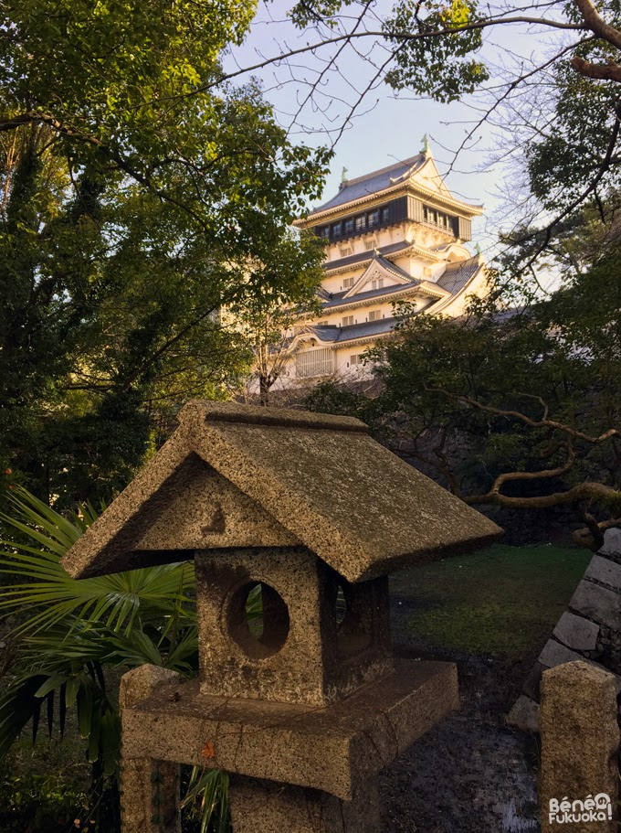 Sanctuaire et donjon du château de Kokura, Fukuoka