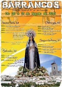 Barrancos- Festas em Hª de Nª Srª da Conceição 2015- 28 a 31 Agosto