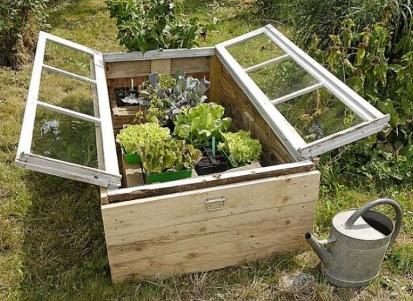 , jardinagem e paisagismo Decorar o jardim com objetos recuperados