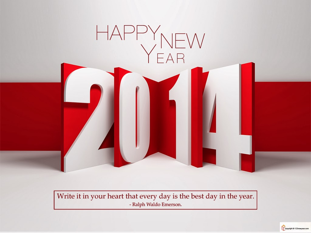 wallpaper happy new year 2014