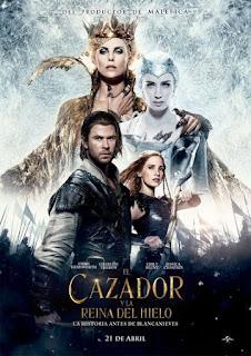 Poster de Blancanieves: El Cazador y la Reina del Hielo