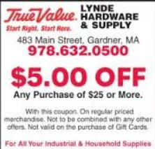 True value coupon code