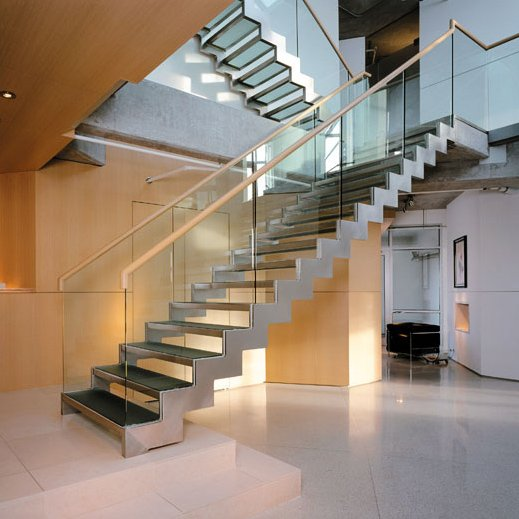 Gypsum Partition Of Stair : Decoracion moderna escaleras modernas