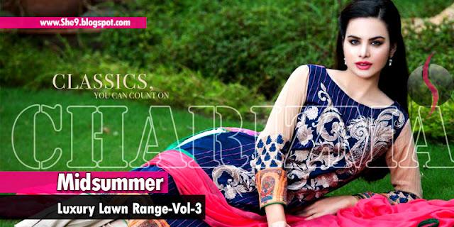 Charizma Midsummer Designer Lawn 2015 Vol-3
