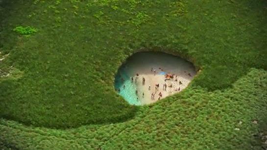 playa escondida de las islas Marietas México Hidden Beach de Puerto Vallarta